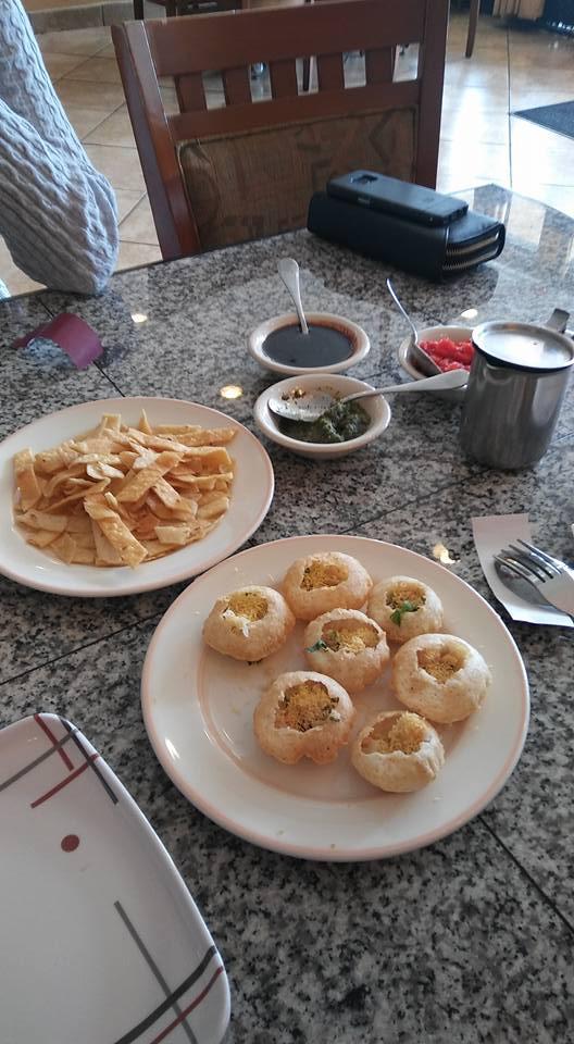 Pani Puri at Punjab Kitchen