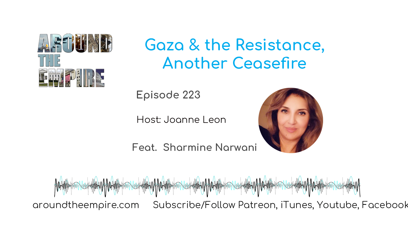 Ep 223 Gaza and the Resistance, Another Ceasefire feat Sharmine