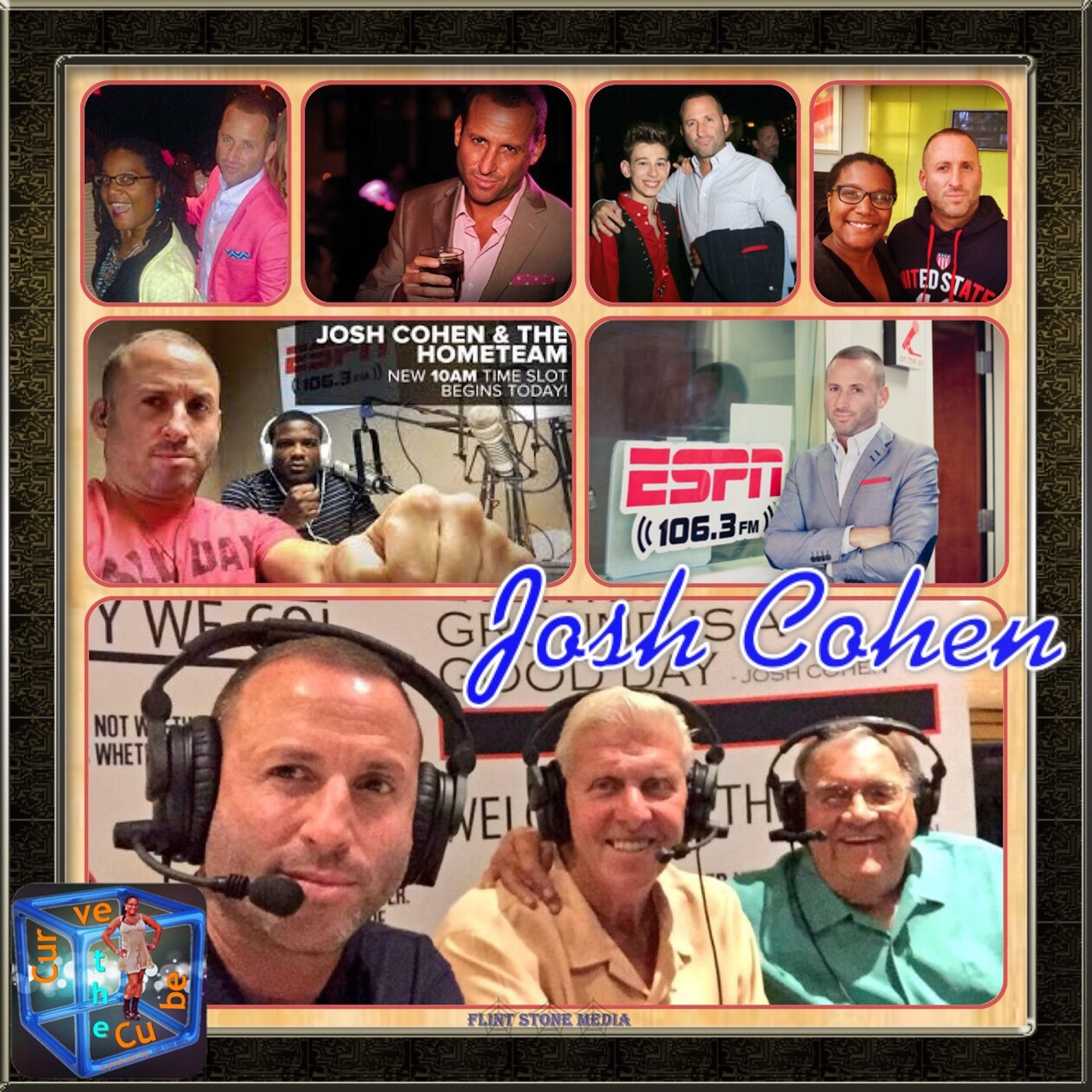 Josh Cohen of Josh Cohen and The HomeTeam on ESPN West Palm 106.3 on the Curve the Cube Podcast