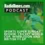 Artwork for Sports Super Sunday review: Cricket World Cup, Wimbledon and British F1 GP