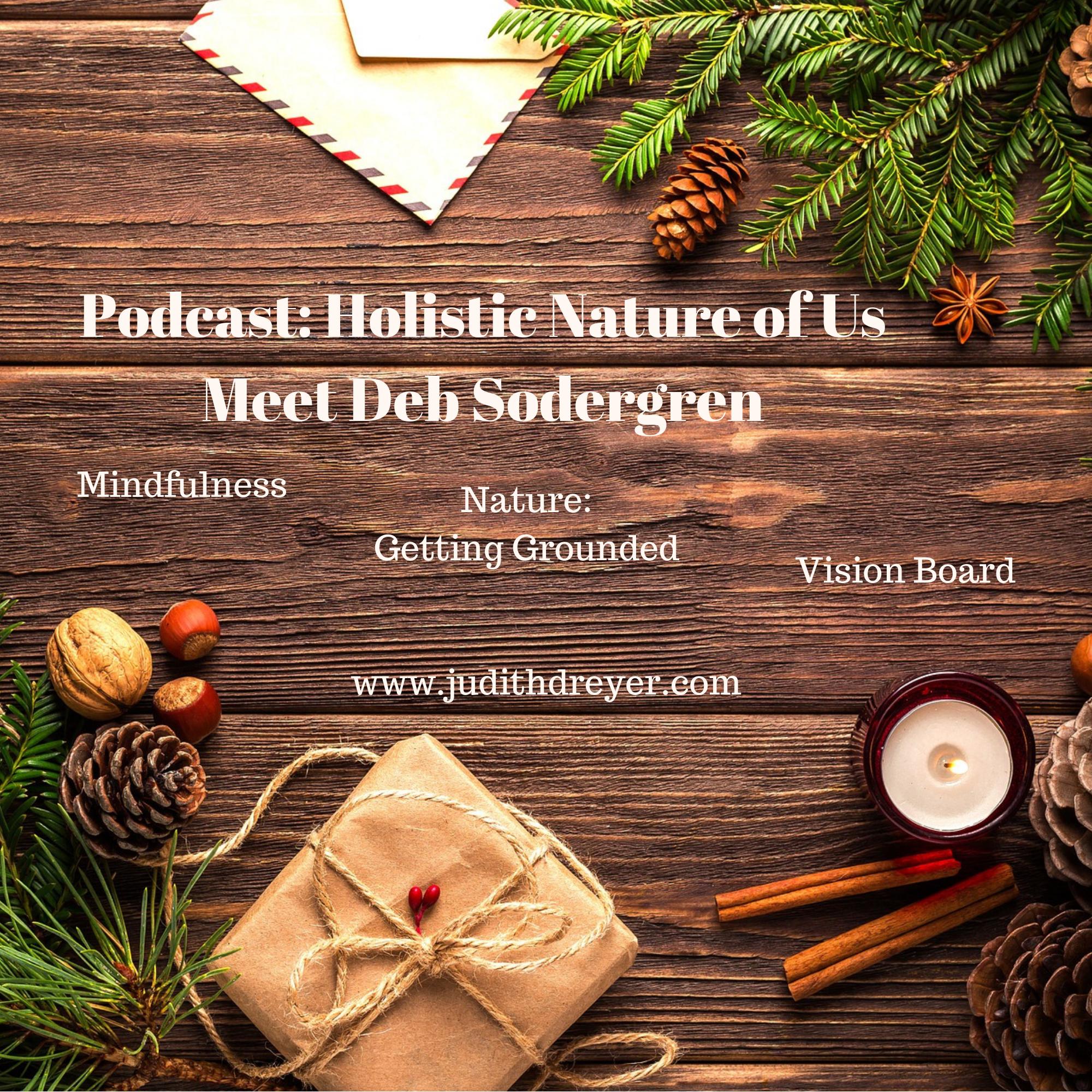 Artwork for Podcast: Holistic Nature of Us: Meet Deb Sodergren