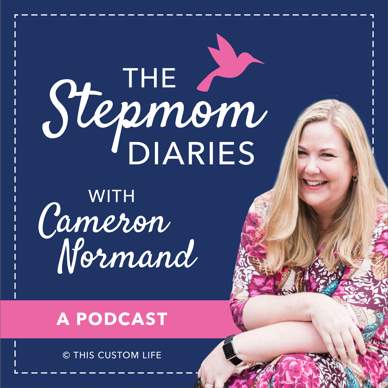 The Stepmom Diaries Podcast show art