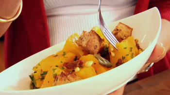 Roasted Butternut Squash with Sun-dried Tomatoes