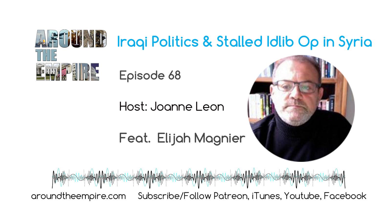 Around the Empire Ep 68 Iraq Politics & Stalled Idlib Op in Syria feat Elijah Magnier