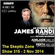 The Skeptic Zone #315 - 2.Nov.2014
