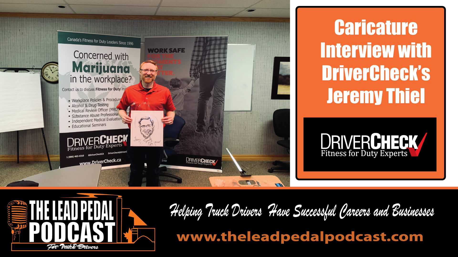 A Visit with DriverCheck's Jeremy Thiel