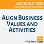 Artwork for Program 159 - Align Business Values and Activities