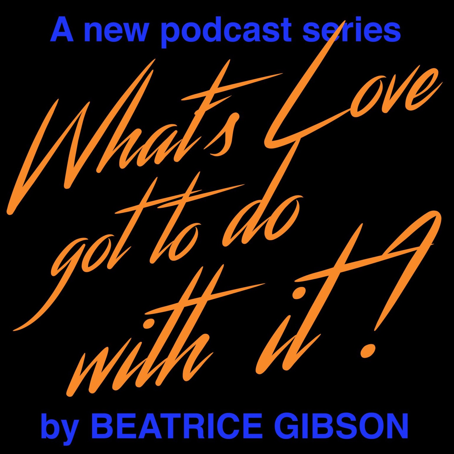 What's Love Got To Do With It show art