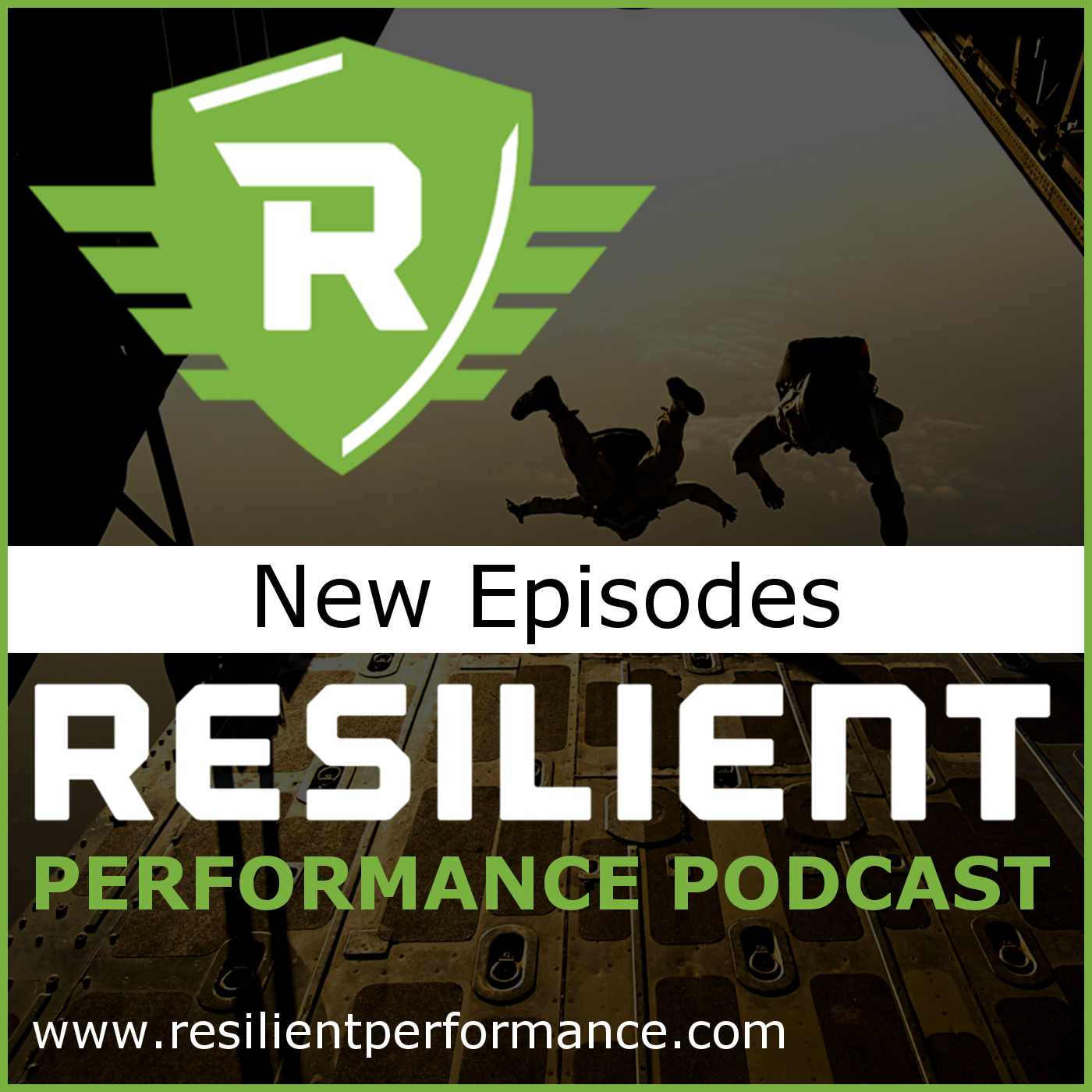 Resilient Performance Podcast show art