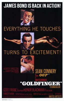 SNS #5 Goldfinger '64
