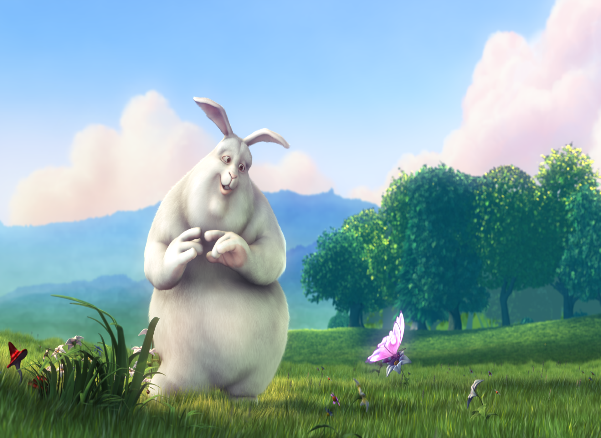 Artwork for (VIDEO) ENTERTAINING SHORT FILMS: Big Buck Bunny!