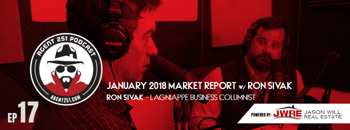 Ep17 | Agent 251 | January Market Report | Real Estate | Jason Will Real Estate