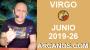 Artwork for HOROSCOPO VIRGO - Semana 2019-26 Del 23 al 29 de junio de 2019 - ARCANOS.COM