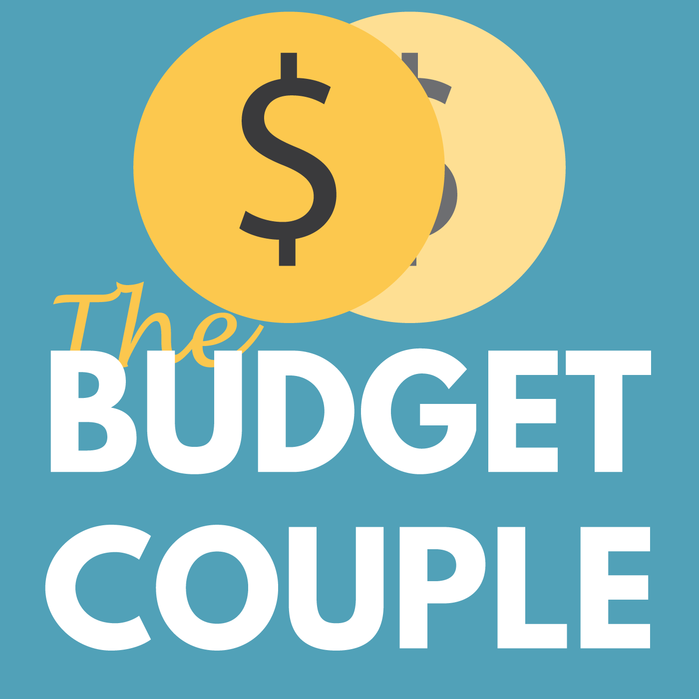 Budget Couple Podcast show art
