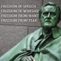 Artwork for #1247 The Fight for the Four Freedoms (FDR vs. Libertarianism)