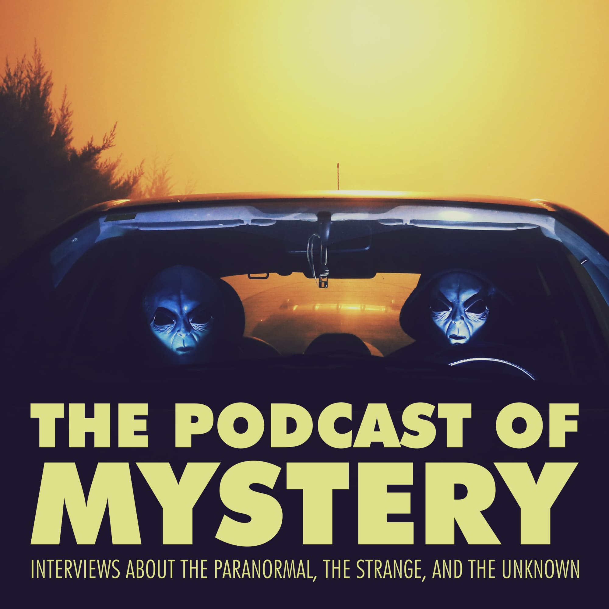 The Podcast of Mystery show art