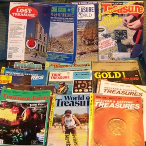 032-091112 In the Treasure Corner - Old Magazines