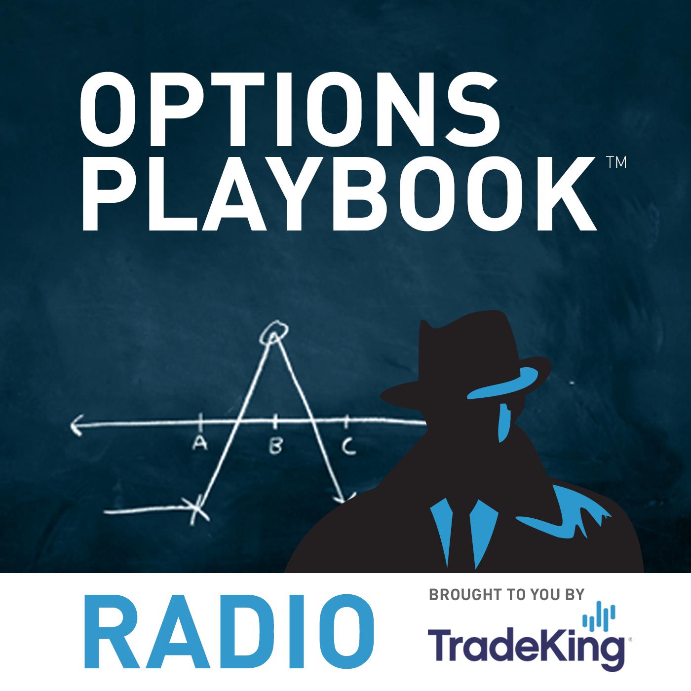 Artwork for Options Playbook Radio 59: Skip Strike Butterflies, Continued
