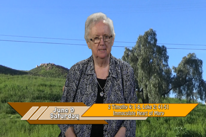 Artwork for iGod Today with Sr. Pat Phillips, SHCJ;  Today's topic: living the mystery