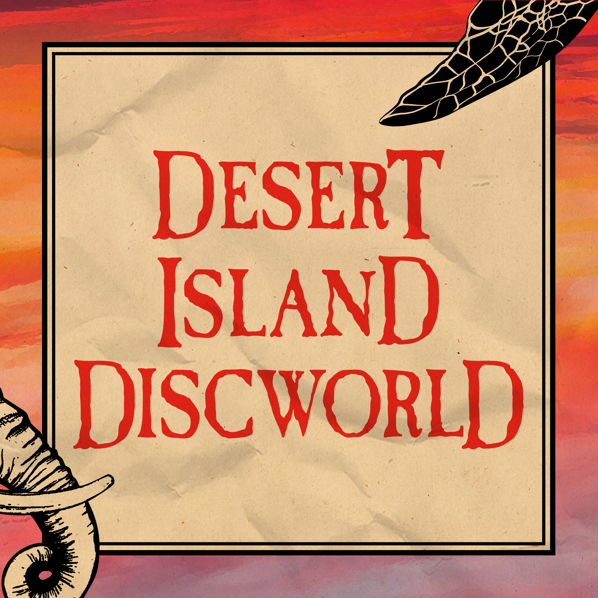 Desert Island Discworld show art