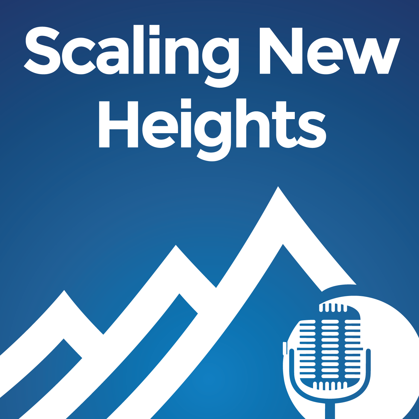Scaling New Heights Podcast: Cutting Edge Training For Small Business Advisors show art