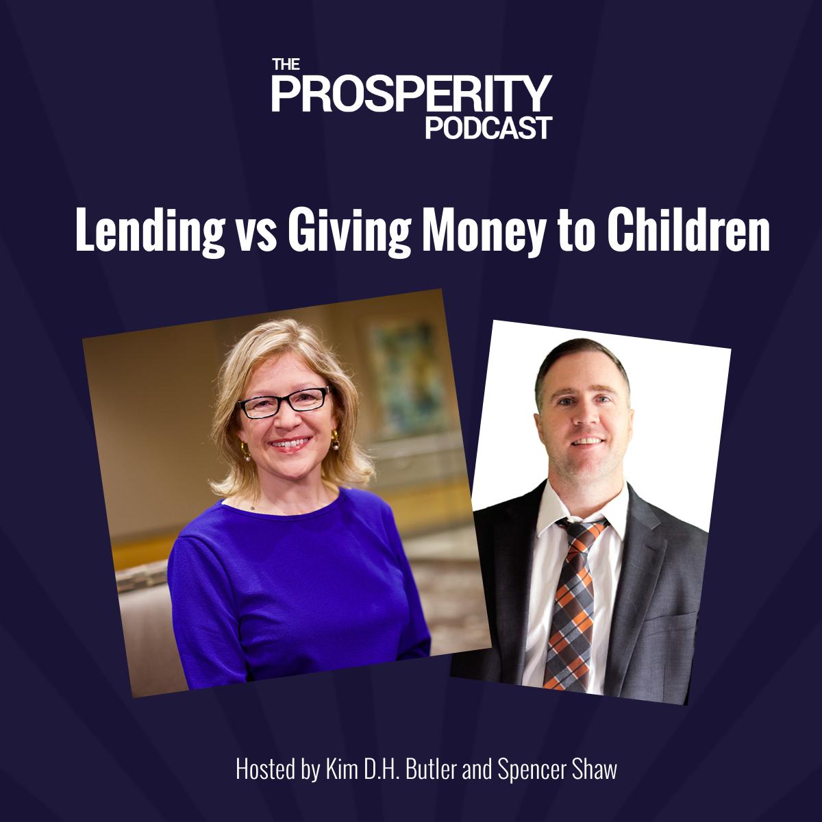Lending vs Giving Money to Children