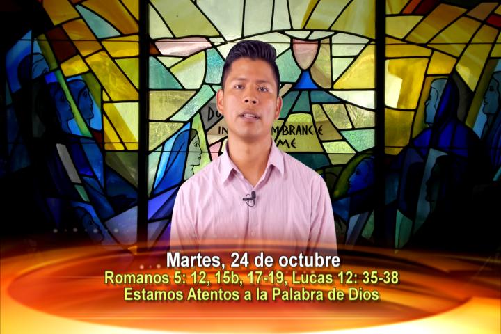 Artwork for Dios te Habla con Oscar Iván Tintinago.  El tema: Dichosos todos nosotros que estamos atentos a la Palabra de Dios