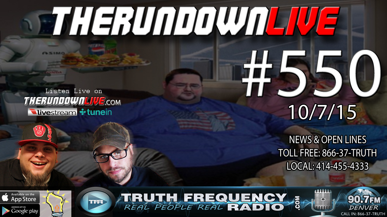 The Rundown Live #550 (Podcasting,Home Gun Control,Sexy Spacesuits)