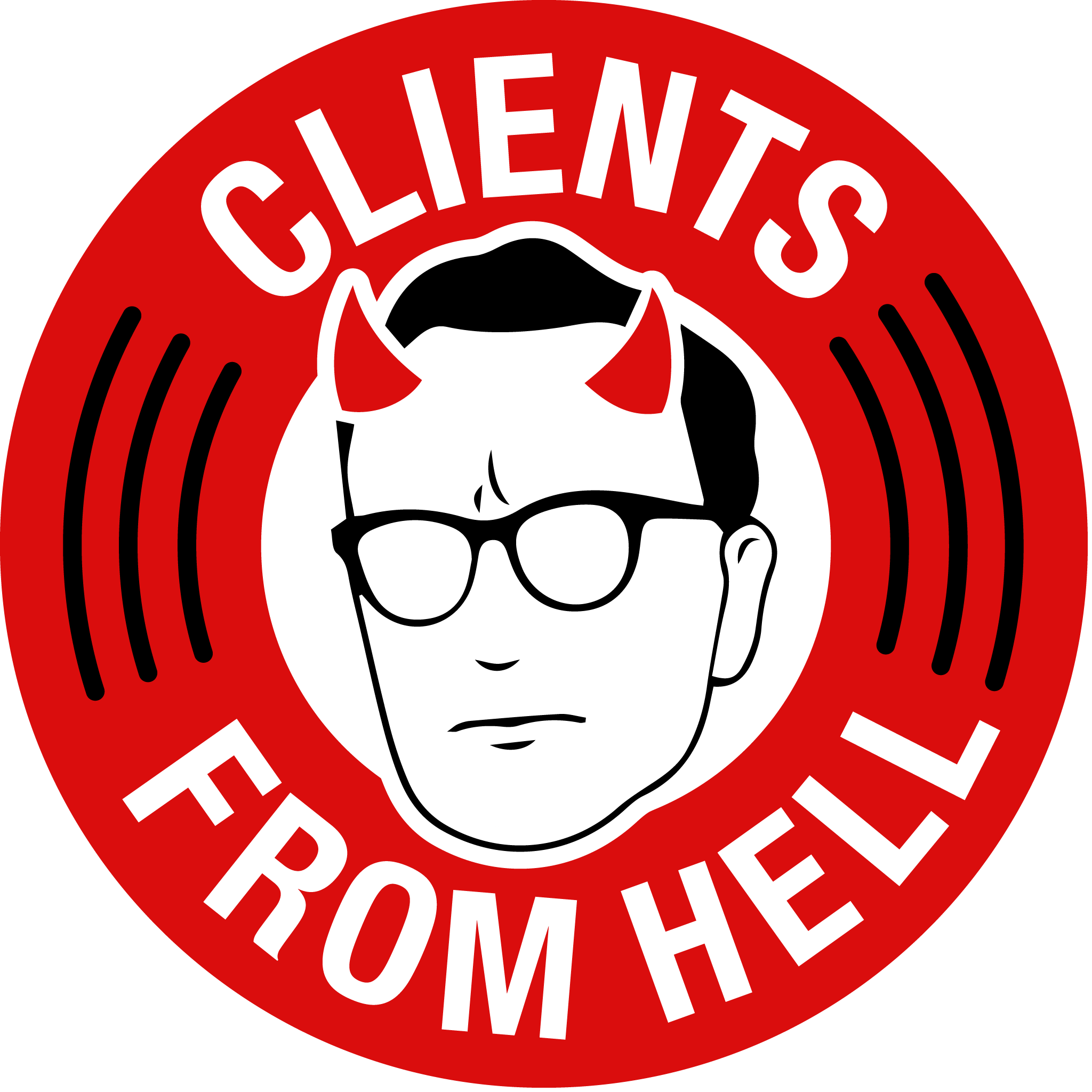 Clients From Hell Podcast show art