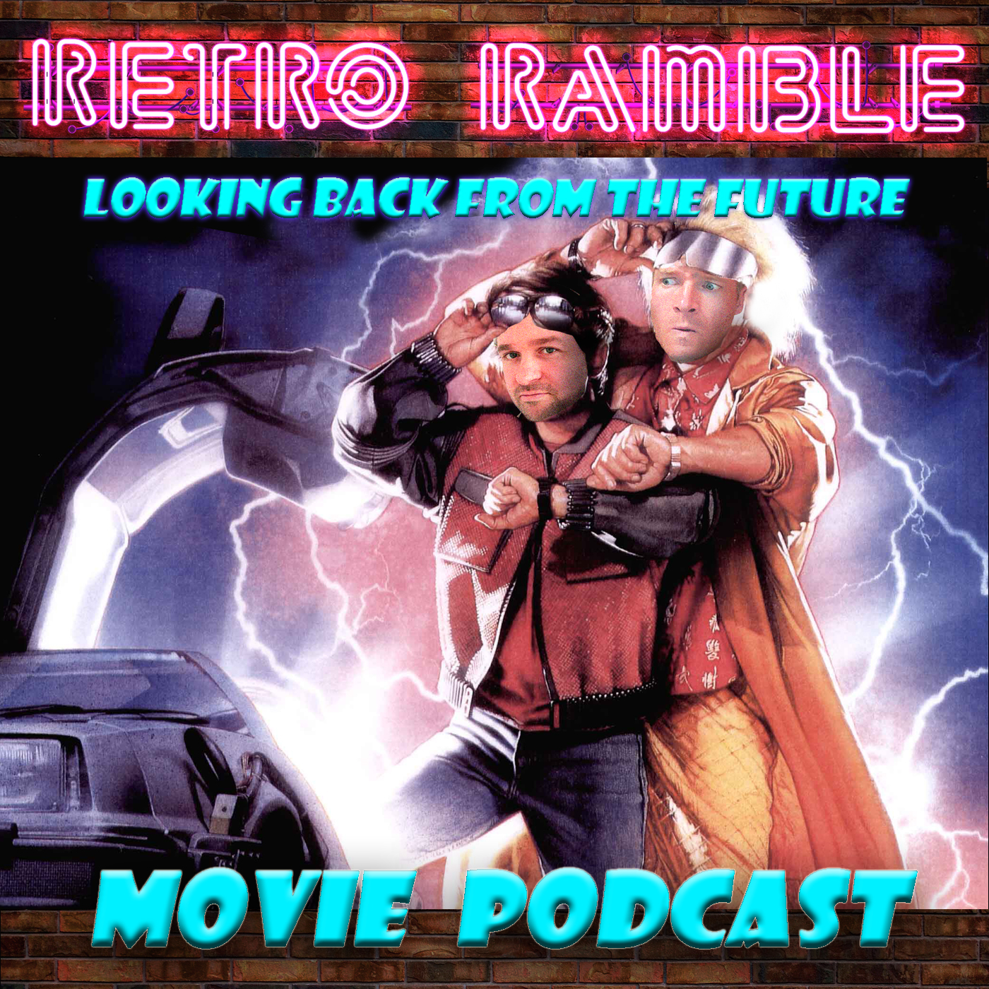 Retro Ramble show art