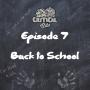 Artwork for Episode 7: Back to School