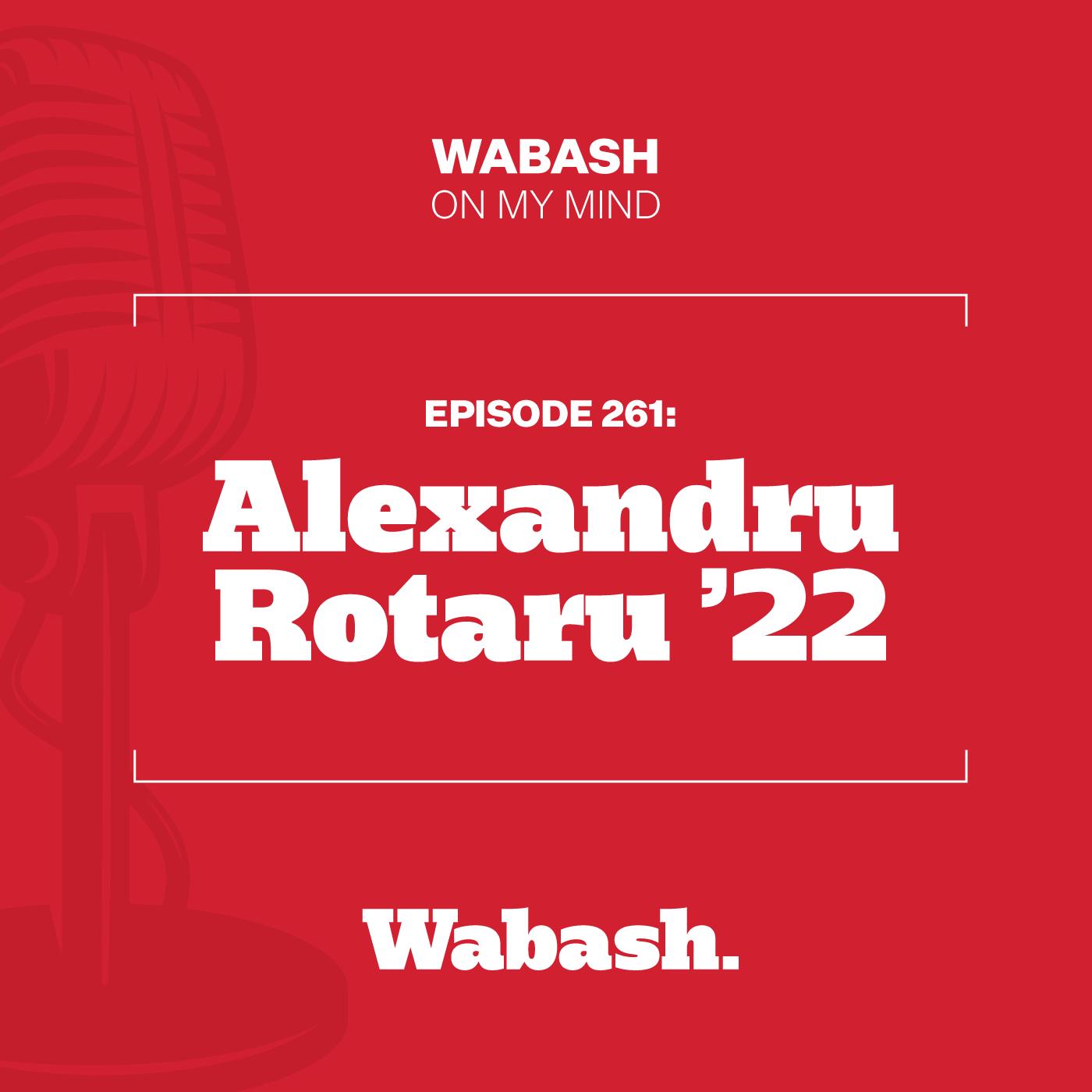 #261: Alexandru Rotaru '22