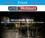 Artwork for #184: Israel and Gaza on Fire - American Jewish Webinar