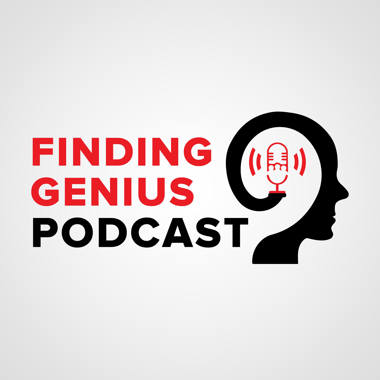 Finding Genius Podcast show art