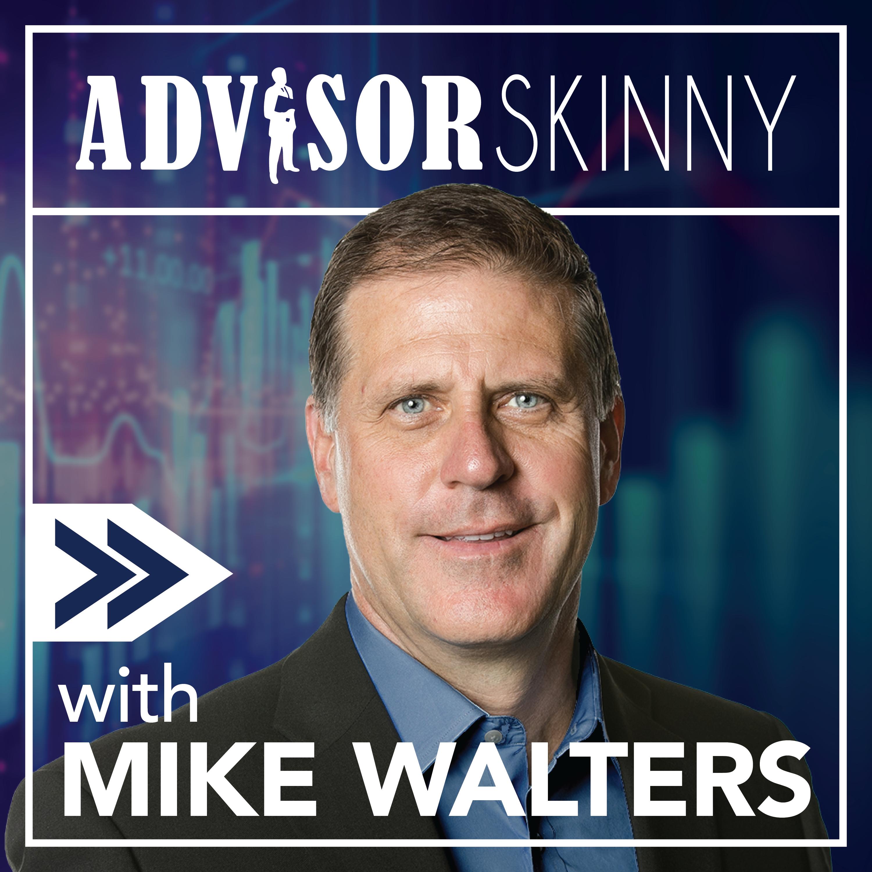 The Advisor Skinny Podcast show art