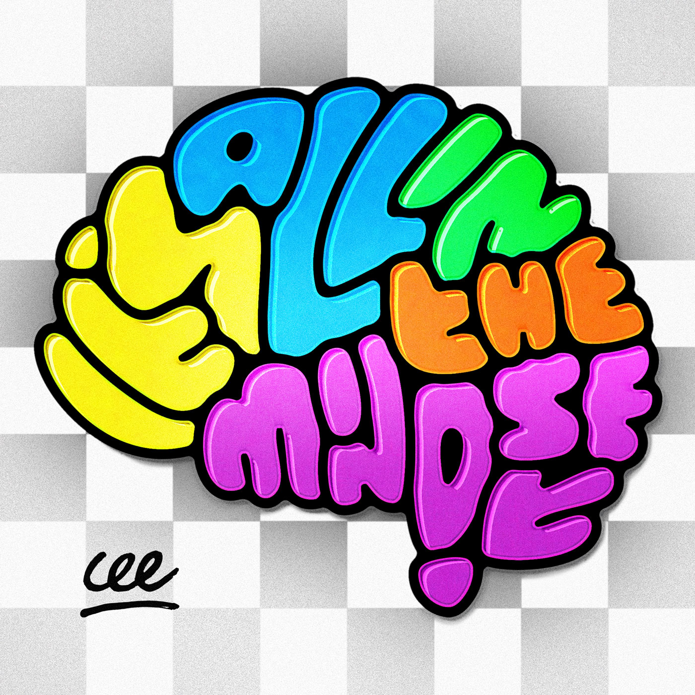 IT'S ALL IN THE MINDSET Podcast show art