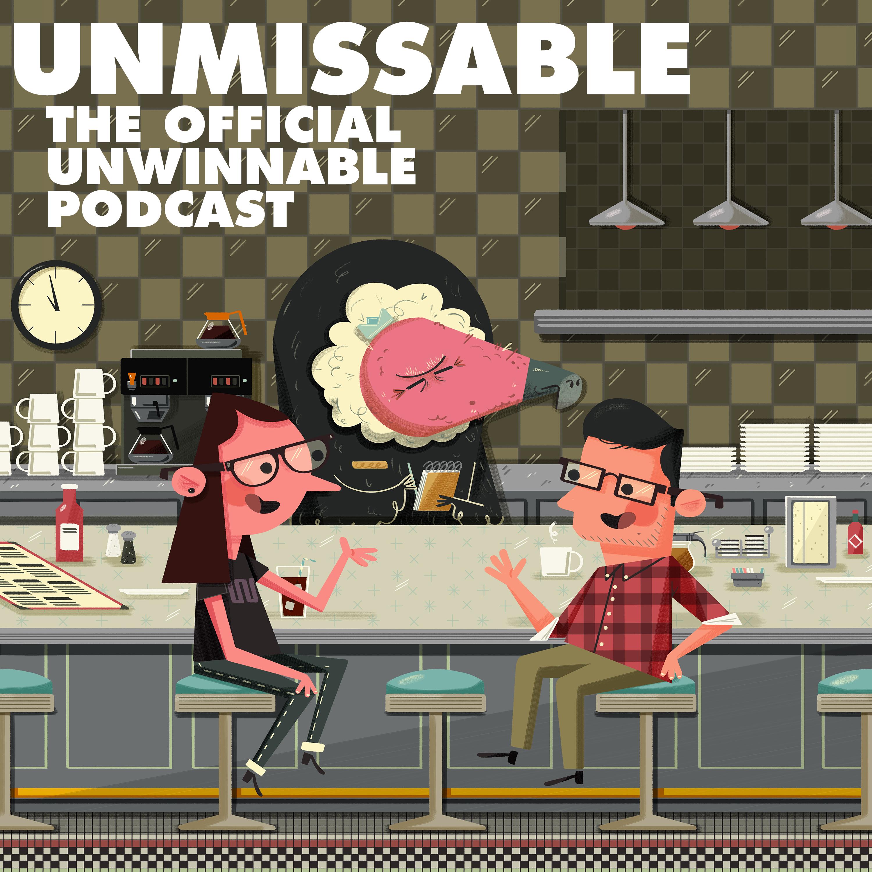 Unwinnable Presents: Unmissable show art