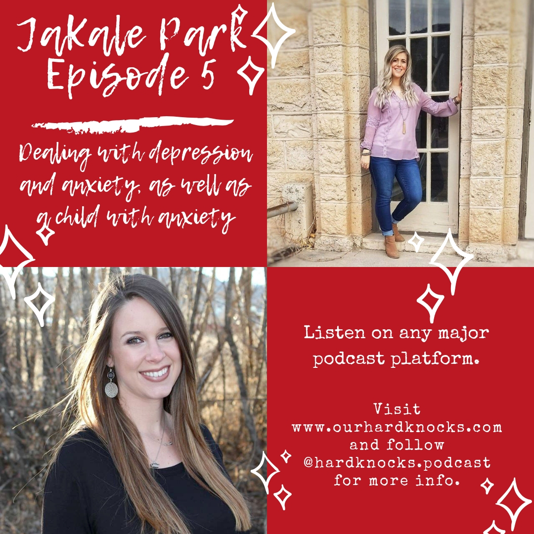Episode 5: JaKale Park - Dealing with Depression and Anxiety, as well as a Child with Anxiety