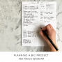 Artwork for 016: Planning a Big Project