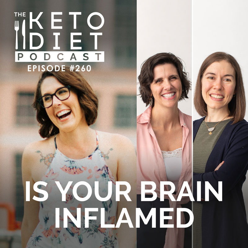 #260 Is Your Brain Inflamed with Dr Rachelle Hansen & Brenna Thompson