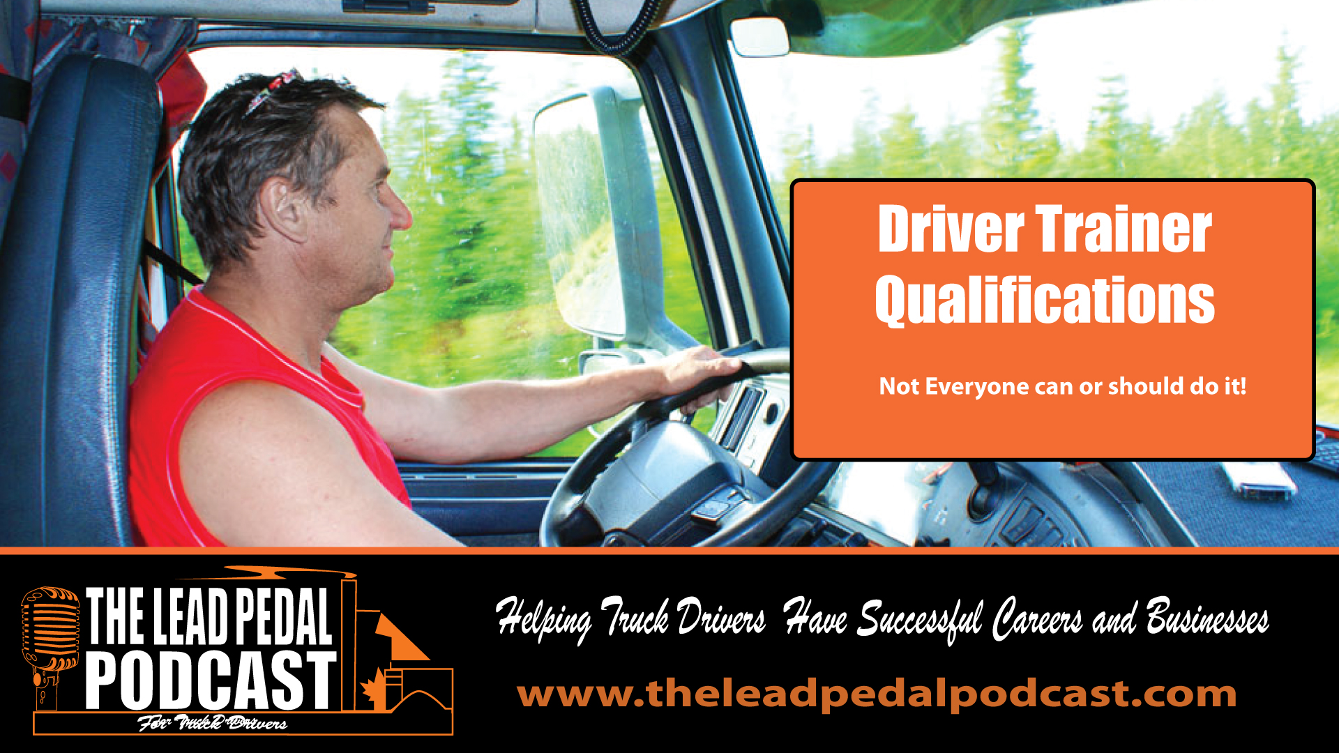 driver Trainer Qualifications
