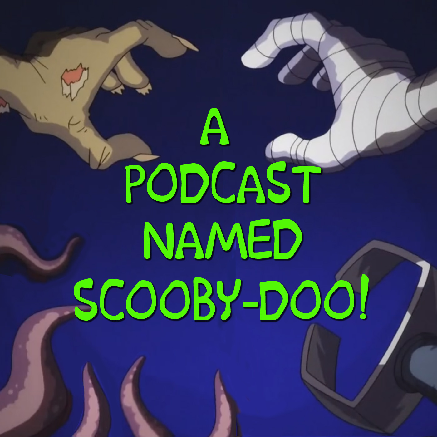 A Podcast Named Scooby-Doo! show art