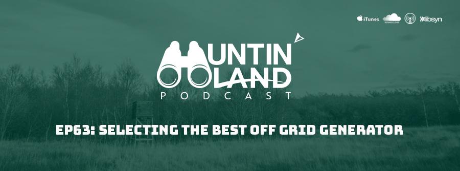 Polaris Generators on Huntin Land Podcast