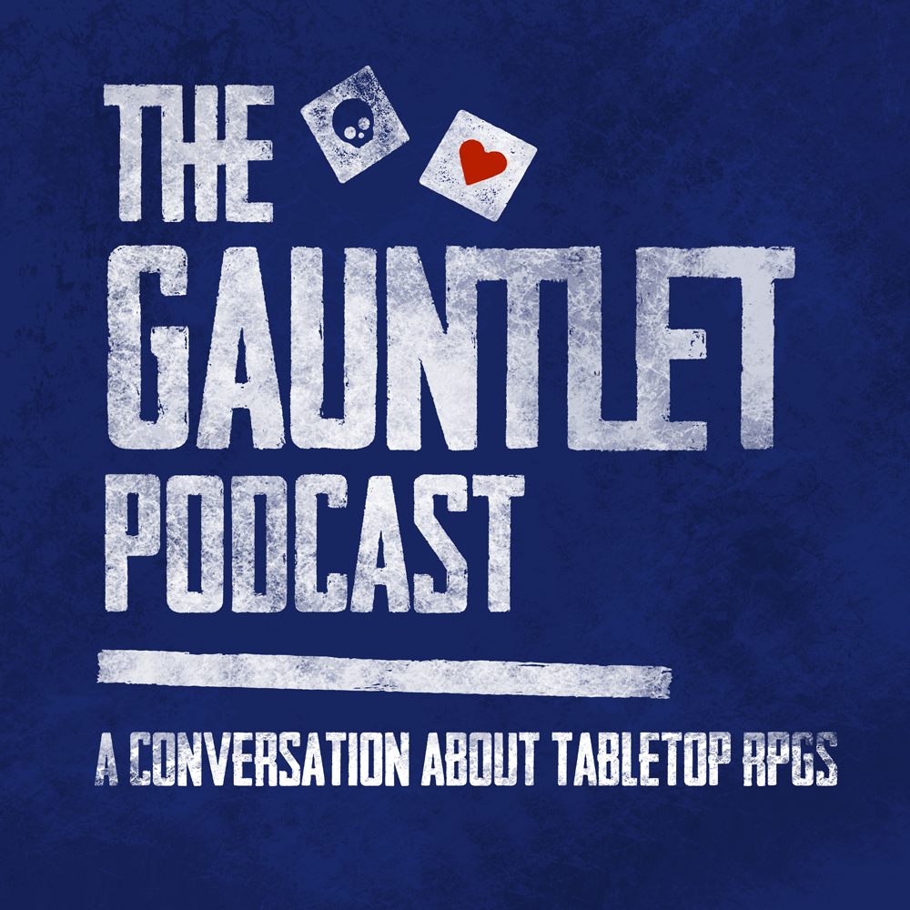The Gauntlet Podcast show art