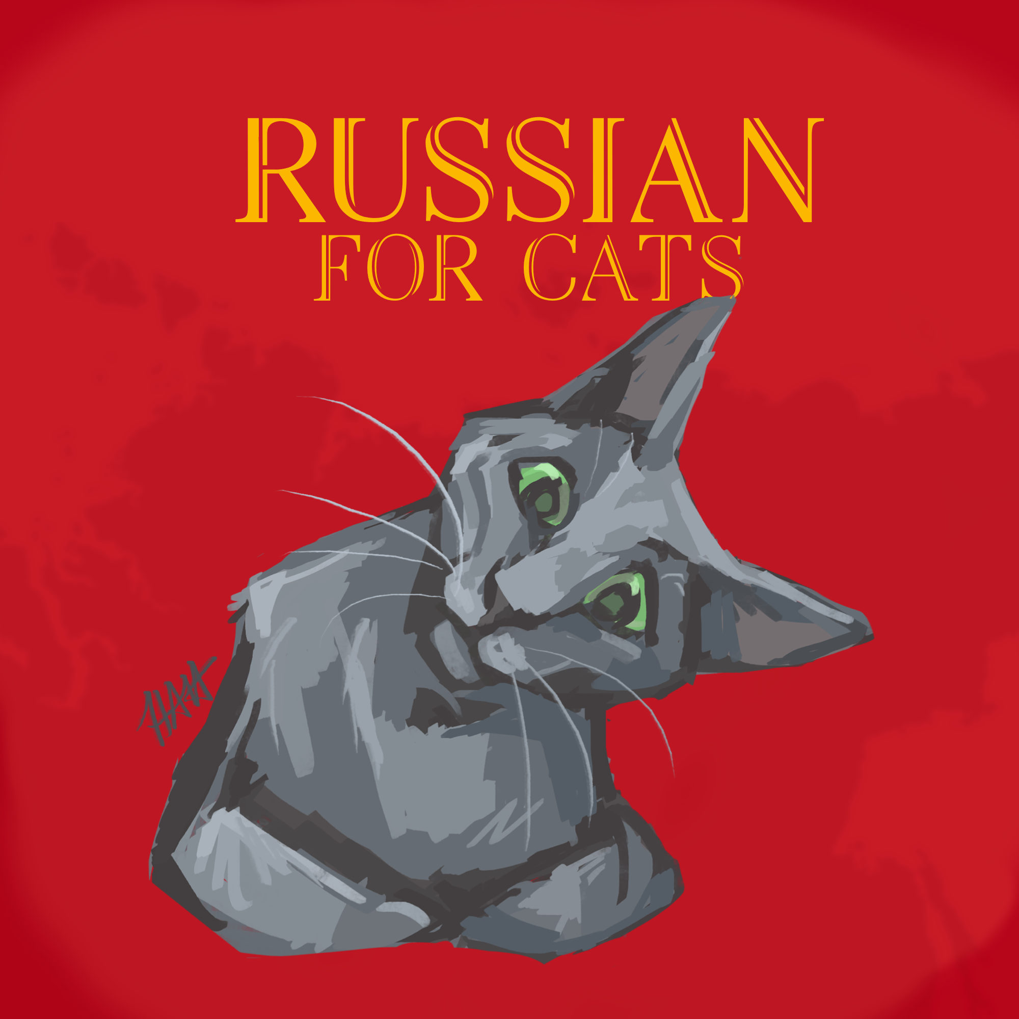 Russian For Cats show art