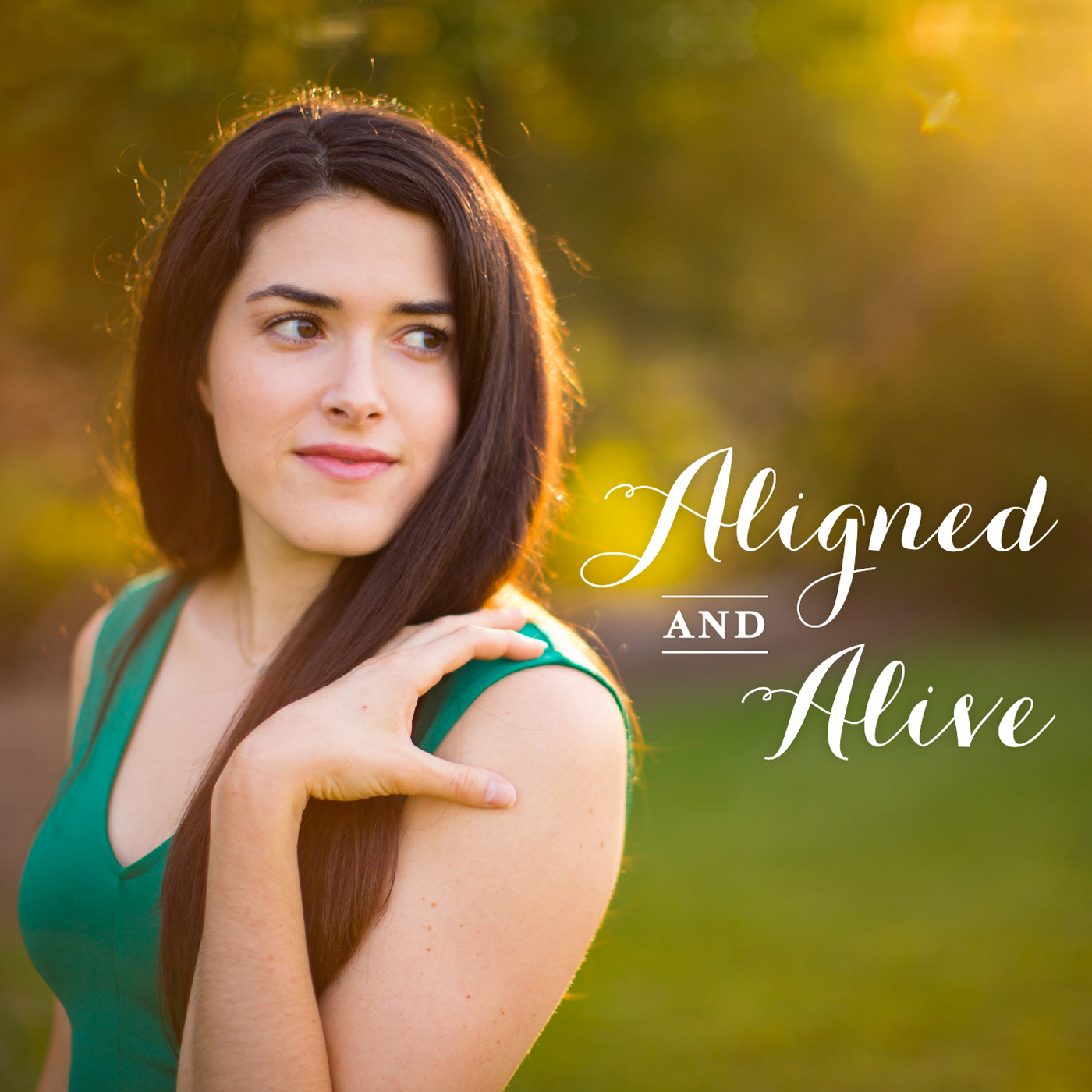 Aligned and Alive show art