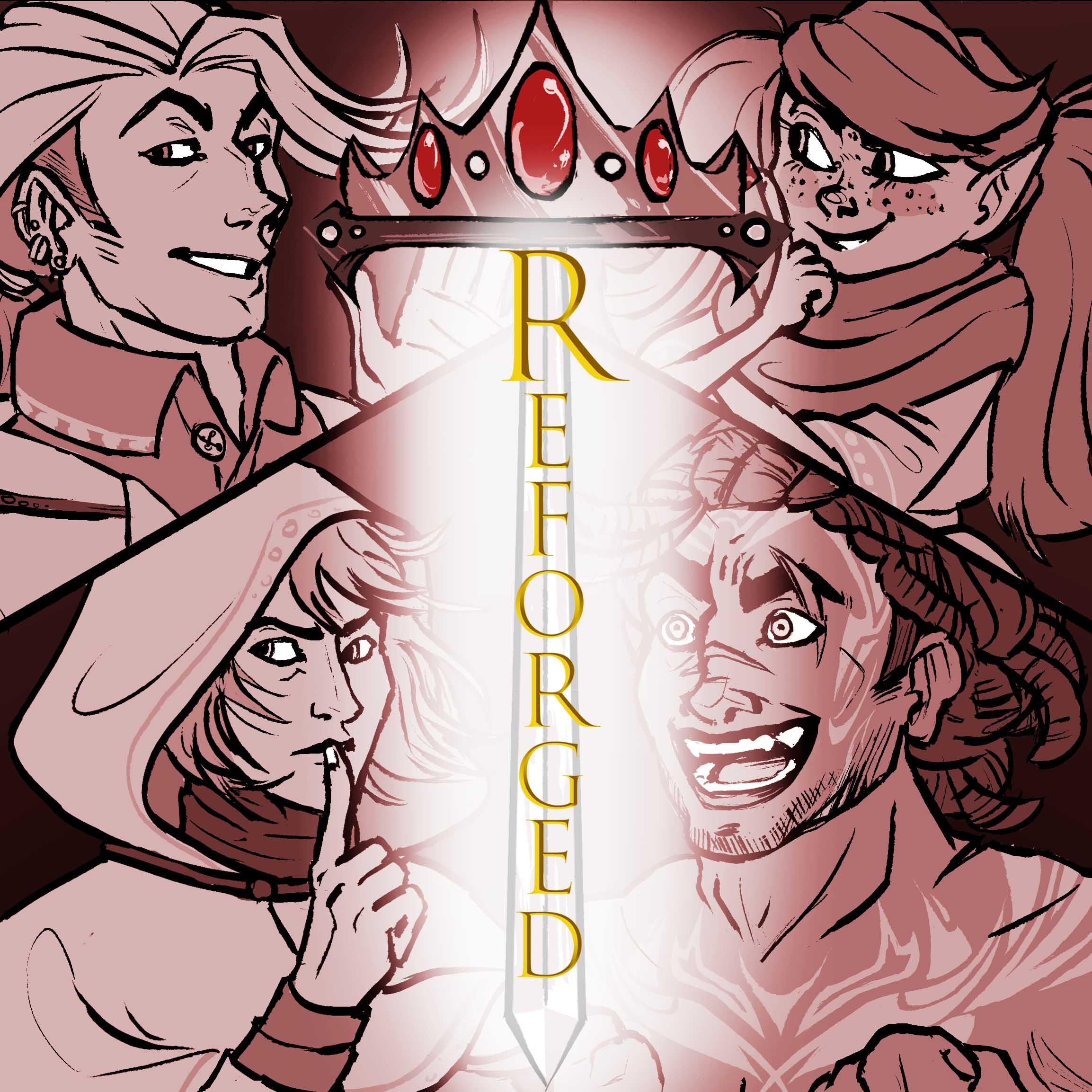 Reforged Podcast show art