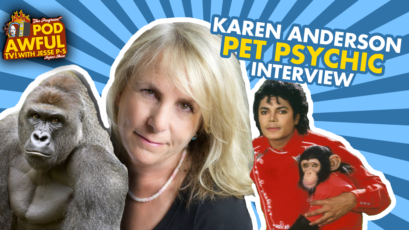 Karen Anderson PET PSYCHIC Interview (Exposing A Fraud)