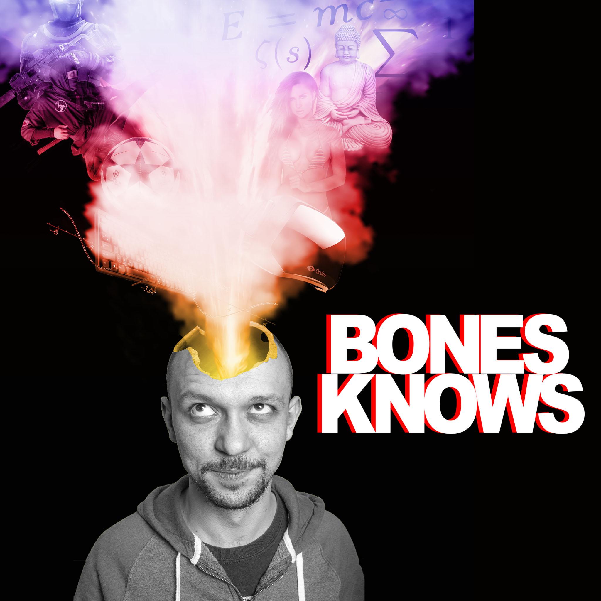 Bones Knows Podcast show art
