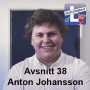 Artwork for Avsnitt 38 - Anton Johansson